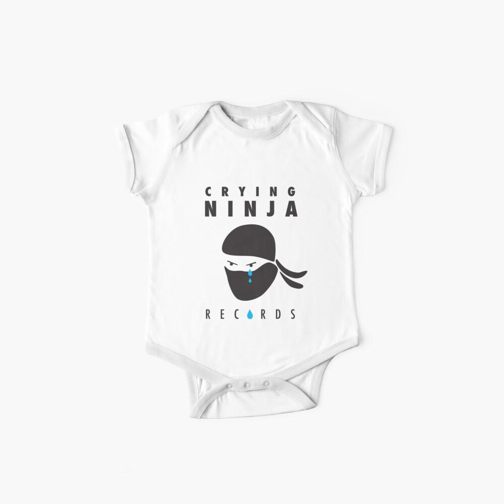 Crying Ninja T-Shirt option A Baby One-Piece