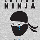 Crying Ninja T-Shirt option A by Crying Ninja