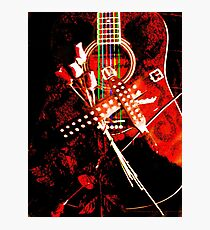 Music- The Metal soul Photographic Print