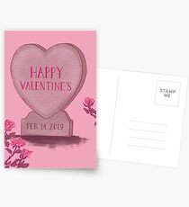 Happy Valentine's Day Postcards
