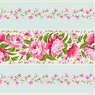 French Cottage Garden florals by Tee Brain Creative