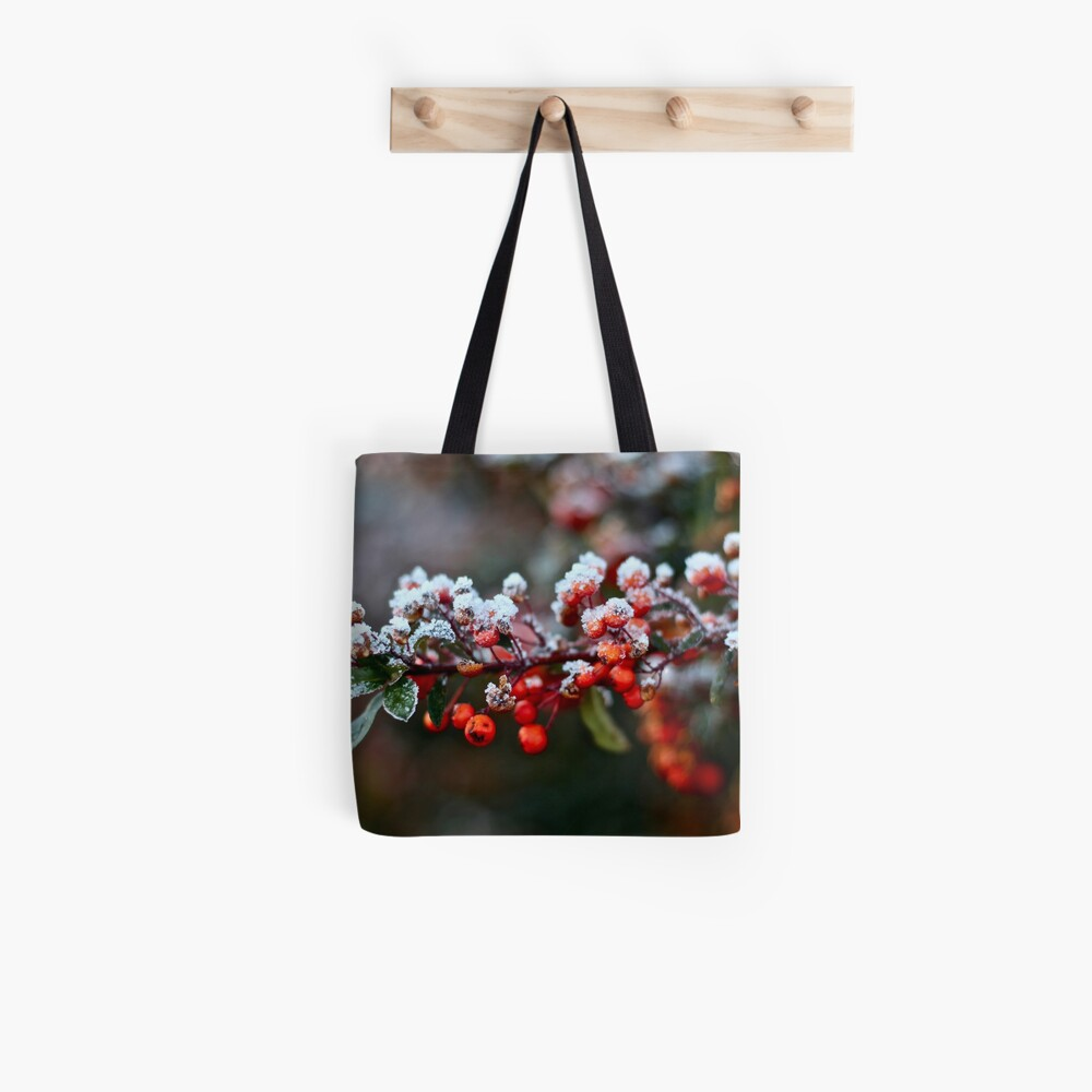 Winter's Kiss Tote Bag