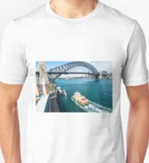 From the top of the Ferris wheel Unisex T-Shirt
