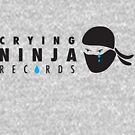 Crying Ninja T-shirt option B by Crying Ninja