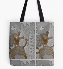 Gray Balon Tote Bag