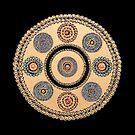 Cycles and Circles Mandala by FRANKEY CRAIG