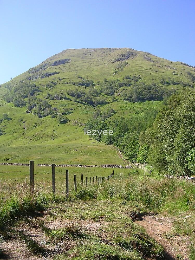 Der Weg zum Berg (Schottland) von lezvee