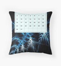 calendar 2011: January Throw Pillow