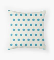 Retro dots Throw Pillow