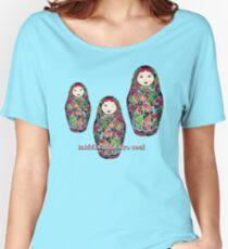Middle Kids Are Cool Women's Relaxed Fit T-Shirt