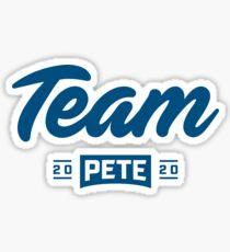 Team Pete 2020 - River Blue Sticker