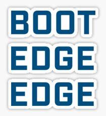 Boot Edge Edge - River Blue Sticker