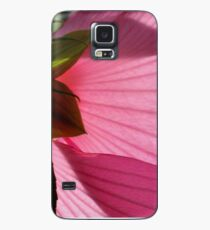 Pink Hibiscus Case/Skin for Samsung Galaxy