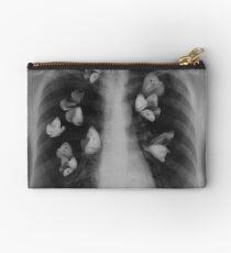 Butterflies in rib cage Studio Clutch