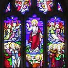 Kirchenfenster, Wiltshire von lezvee