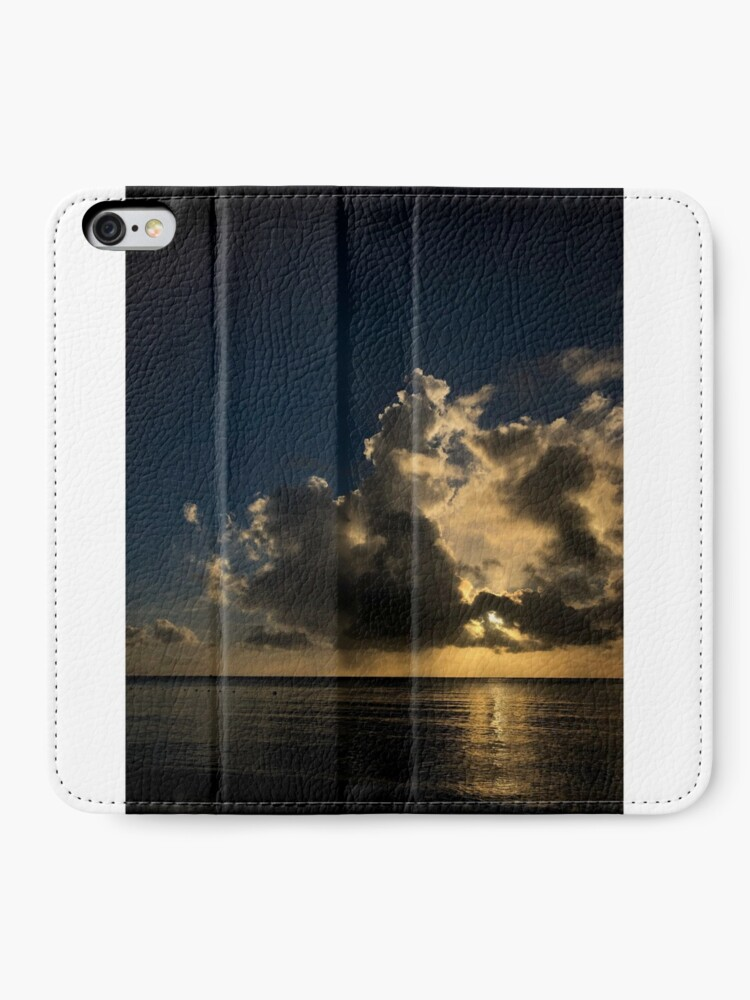 Alternate view of Reflection sunset iPhone Wallet
