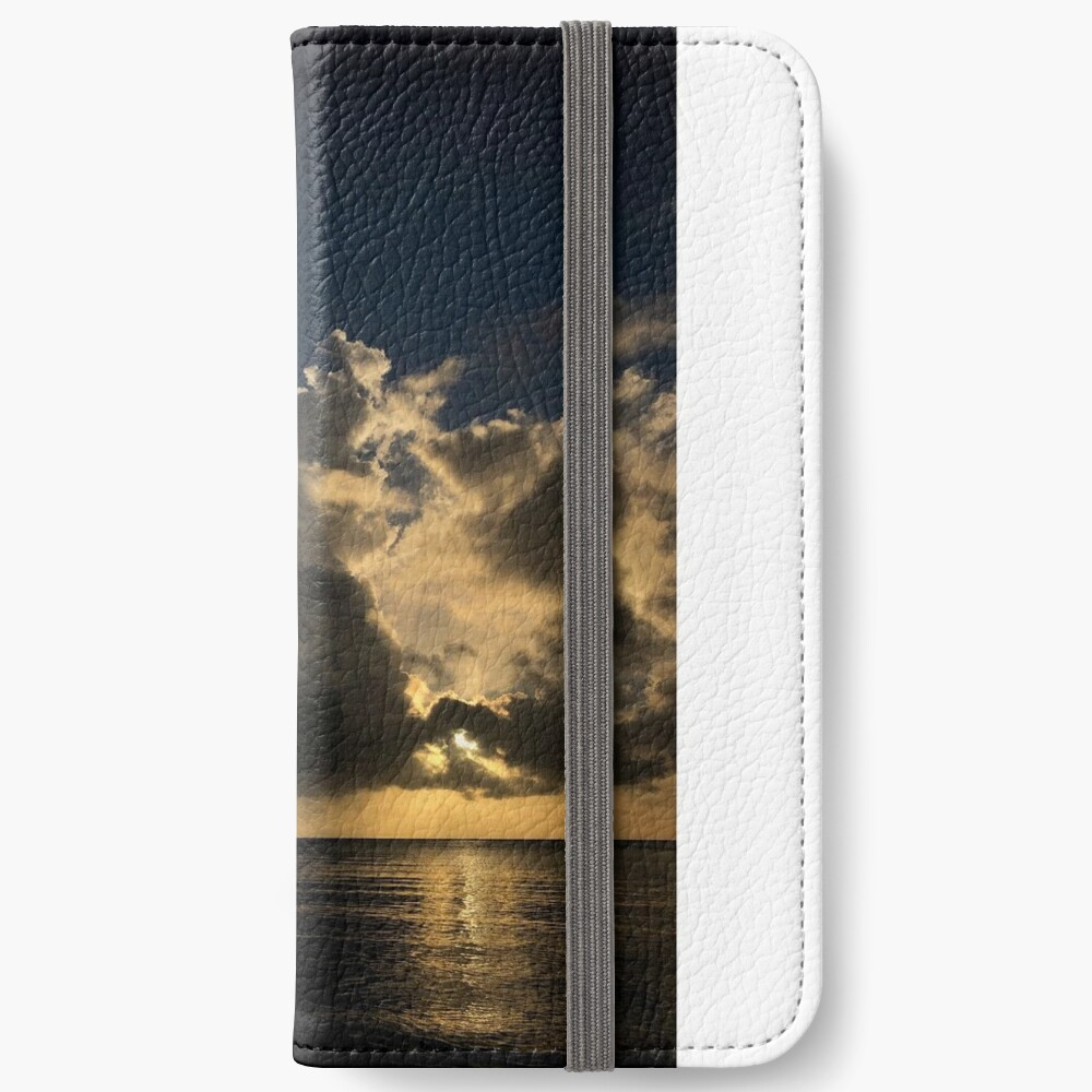 Reflection sunset iPhone Wallet