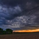 End of a Supercell Storm by MattGranz