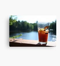 Perfect Saturday Morning Bloody Mary Canvas Print
