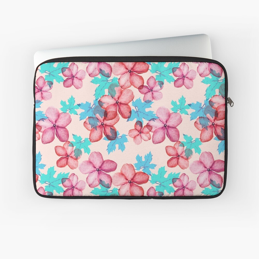 Bloom ( Blumen pattern) Laptoptasche