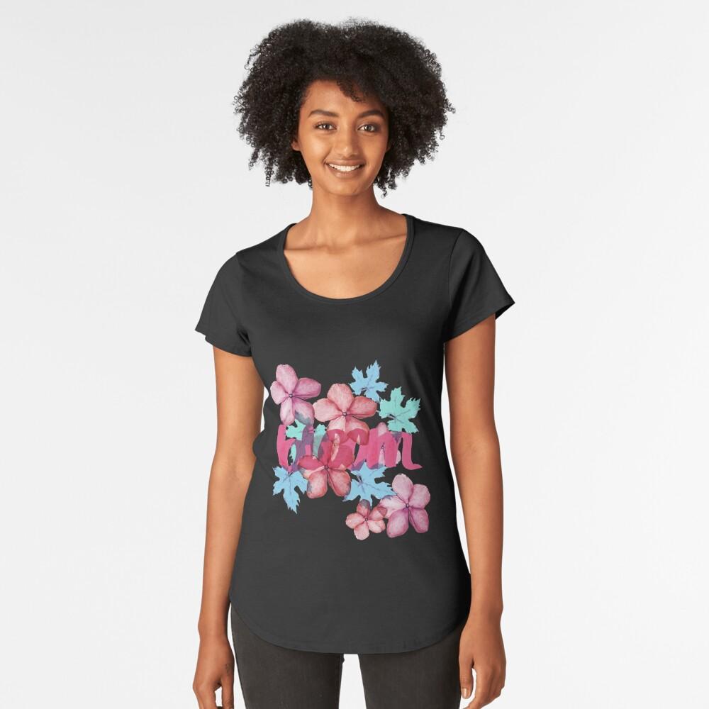 Bloom ( Blumen pattern) Frauen Premium T-Shirt