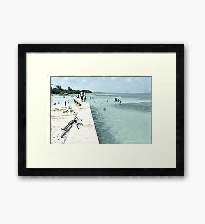 """""""The Split"""" Framed Print"""