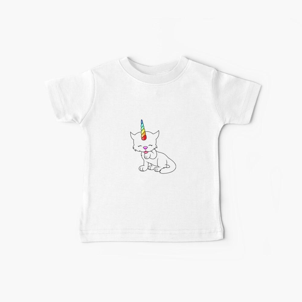 Ich bin ein Caticorn Baby T-Shirt