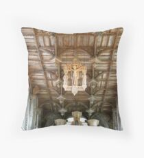 St Davids Cathedral St Davids Wales  Throw Pillow