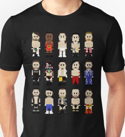 8-Bit Wrestling: NeXT Champions T-Shirt