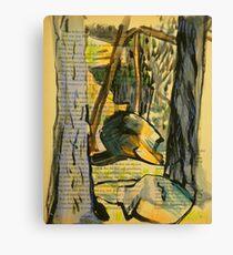 Tree Tunnel - McKell Park Canvas Print