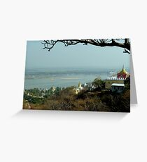 Sagaing, only 50 years of glory  Greeting Card