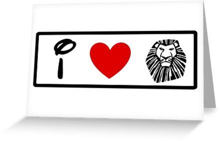 I Heart The Lion King (Classic Logo) by ShopGirl91706