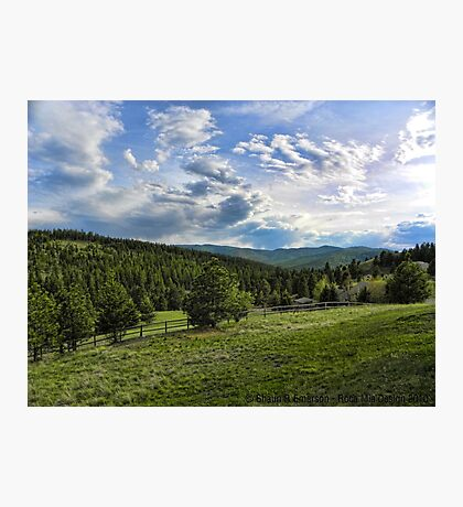 Mountain Meadow Photographic Print