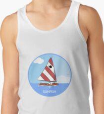 Sunfish Sailboat Tank Top