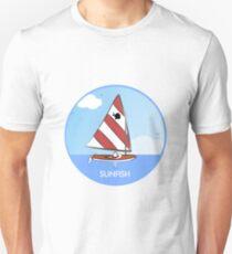 Sunfish Sailboat Slim Fit T-Shirt