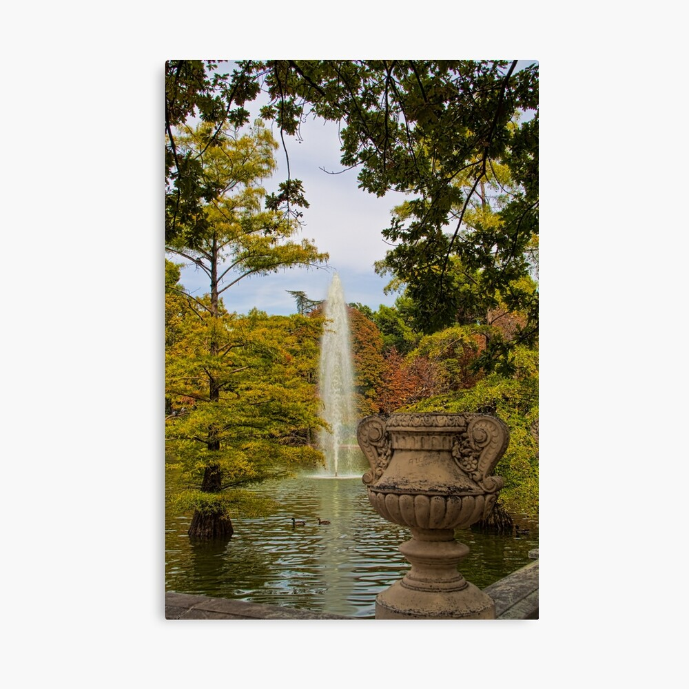 Spain. Madrid. Fall in Buen Retiro park. Lienzo