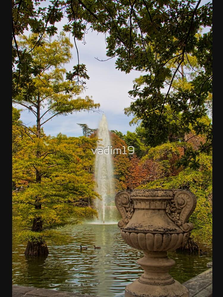 Spain. Madrid. Fall in Buen Retiro park. de vadim19
