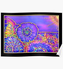 Poster, Print, 'Psychedelic Suncatcher' Poster