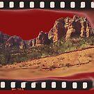 Sedona Arizona - Red Rock Filmstrip Scene by SimplyMary