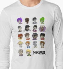 Ninjago Season 4  Long Sleeve T-Shirt