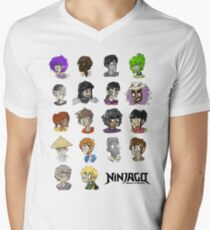 Ninjago Season 4  Men's V-Neck T-Shirt