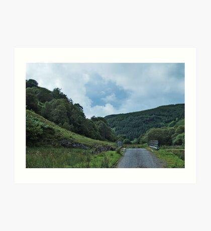 The Glen Feochan Road Art Print