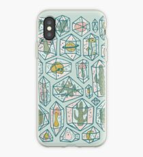 Crystals and Plants iPhone Case