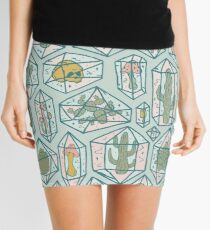 Crystals and Plants Mini Skirt
