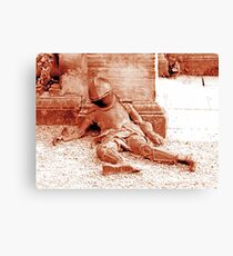 Fallen Soldier, Harewood House Canvas Print
