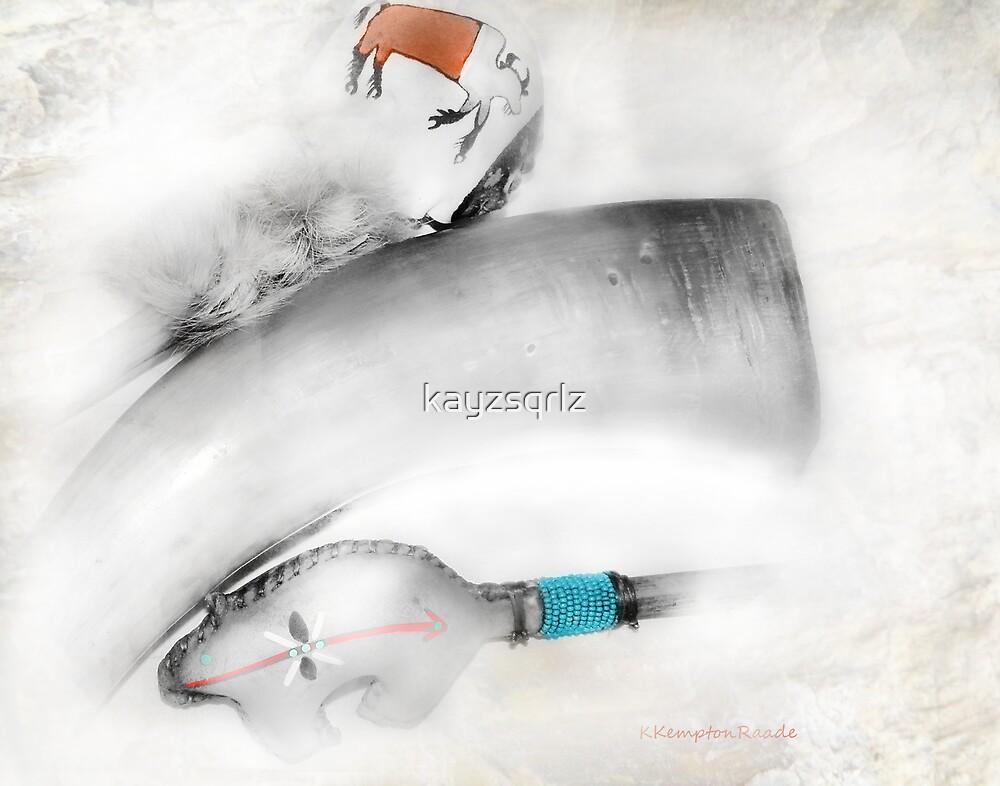 Pow Wow Rattles by kayzsqrlz