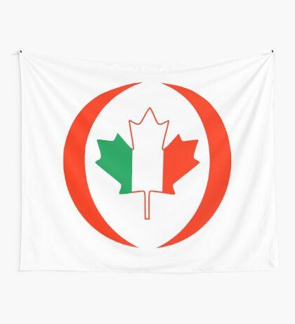 Irish Canadian Multinational Patriot Flag Series Wall Tapestry