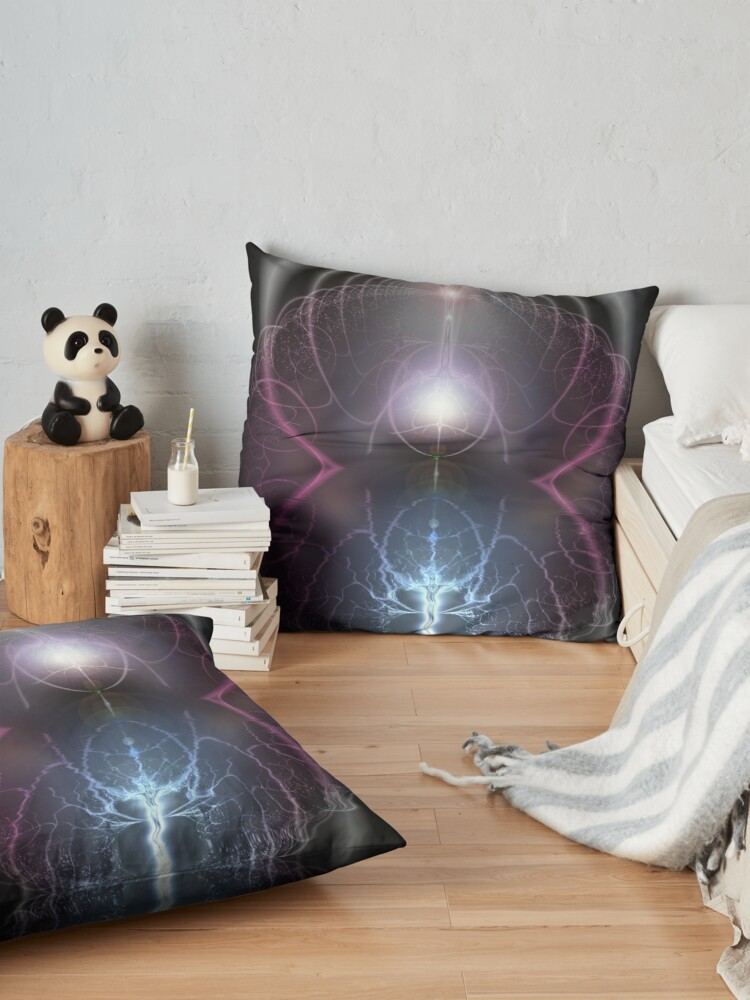 Alternate view of Tesla Floor Pillow