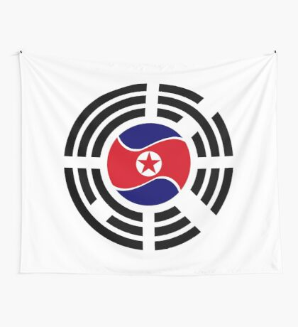 Korean Unity Flag  Wall Tapestry