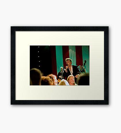 Gerry Fish And The Mudbug Club Framed Print